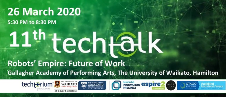 TechTalk #11 - Robots' Empire: Future of Work: CANCELLED