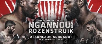 UFC Fight Night: Ngannou vs Rozenstruik: CANCELLED