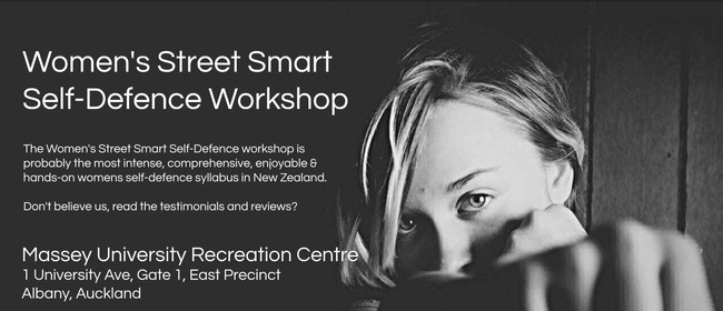 Women's Street Smart Self-Defence Workshop - CANCELLED: CANCELLED