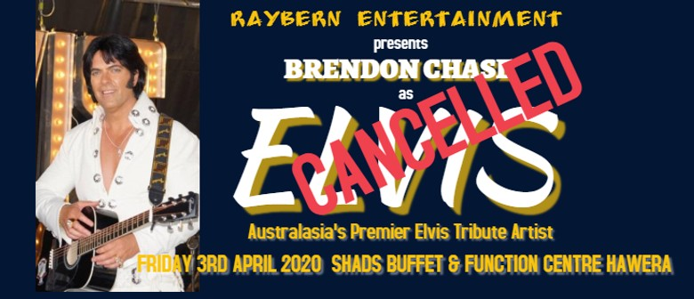 Brendon Chase as Elvis: CANCELLED