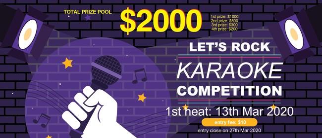 Ye Olde Bailey Karaoke Competition 2020