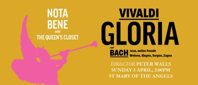 Nota Bene presents: Gloria: POSTPONED