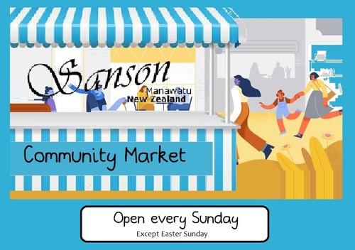 Sanson Community Market: CANCELLED