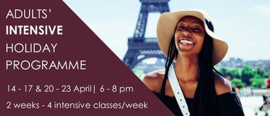 Adults' Intensive Workshop - April 2020: CANCELLED