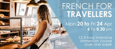 Intensive French for Travellers - April 2020: CANCELLED
