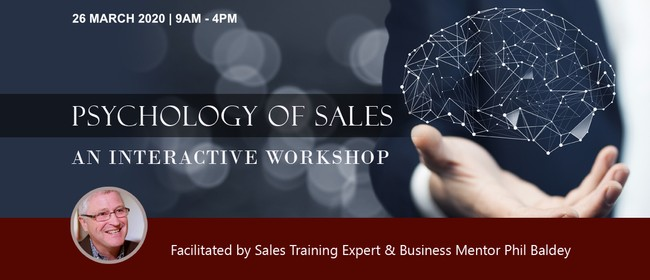 Sales Training - Phil Baldey : CANCELLED