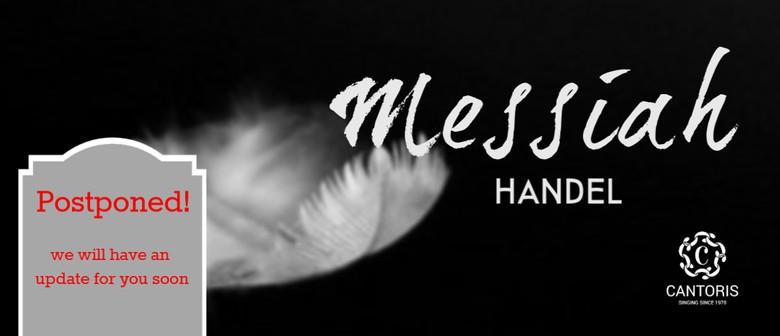 Cantoris presents Handel's MESSIAH: POSTPONED