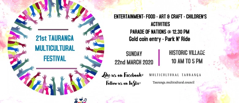 21st Tauranga Multicultural Festival: POSTPONED