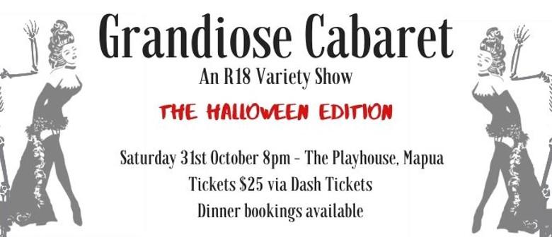 Grandiose Cabaret:Halloween Edition