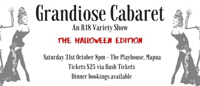 Grandiose Cabaret:Halloween Edition