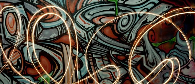 Studio One Toi Tū - Light Painting Photography: CANCELLED