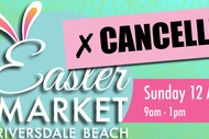 Riversdale Beach Easter Sunday Market: CANCELLED