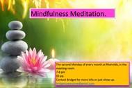 Mindfulness Meditation: CANCELLED