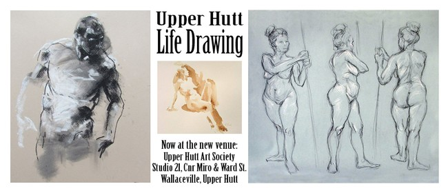 Life Drawing Class: CANCELLED