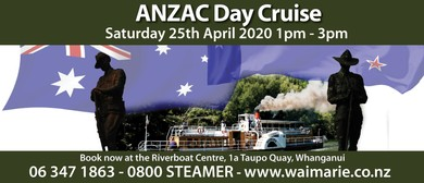 ANZAC Day Cruise: CANCELLED