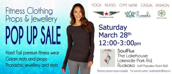 Ruakaka Women's Fitnesswear, Props & Jewellery Pop Up Sale: POSTPONED