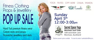 Muriwai Women's Fitnesswear, Props and Jewellery Pop Up Sale: POSTPONED