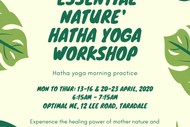 Essential Nature Hatha Yoga Workshop: POSTPONED