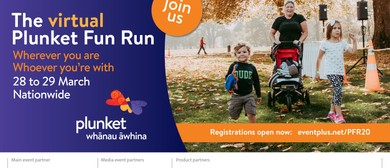 The Virtual Christchurch Plunket Fun Run