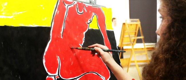 Studio One Toi Tū - Expressive Life Drawing And Painting: CANCELLED