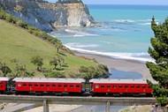 Marlborough Flyer Steam Train - Kekerengu Trip