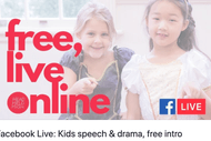 Facebook Live: Kids Speech & Drama, Free Intro