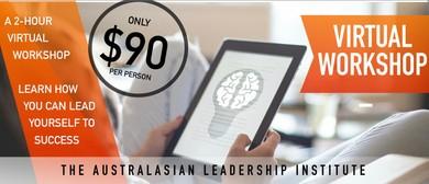 Emotional Intelligence For Leaders: A Virtual Workshop