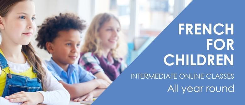 Online French Classes for Children - Intermediate