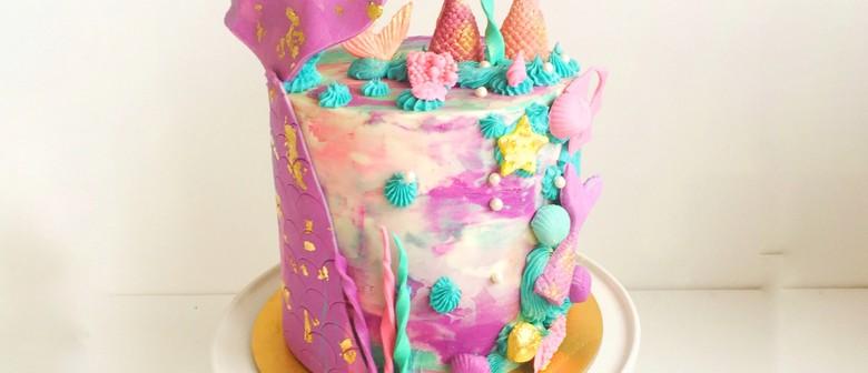 Mermaid Cake Class