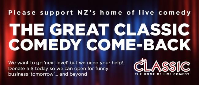 The Great Classic Comedy Comeback