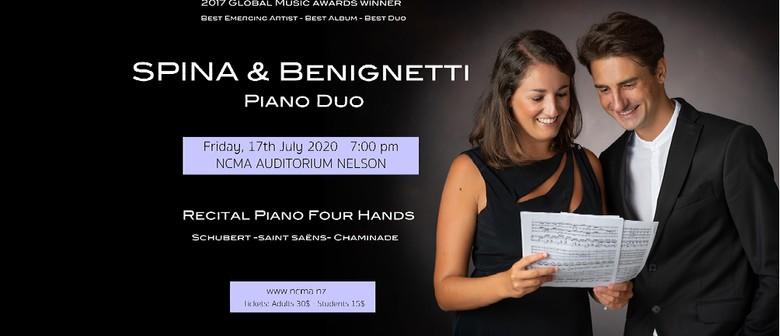 Spina & Benignetti Piano Duo: POSTPONED