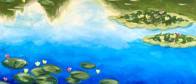 Paintvine Online Live Stream - Monets Waterlilies