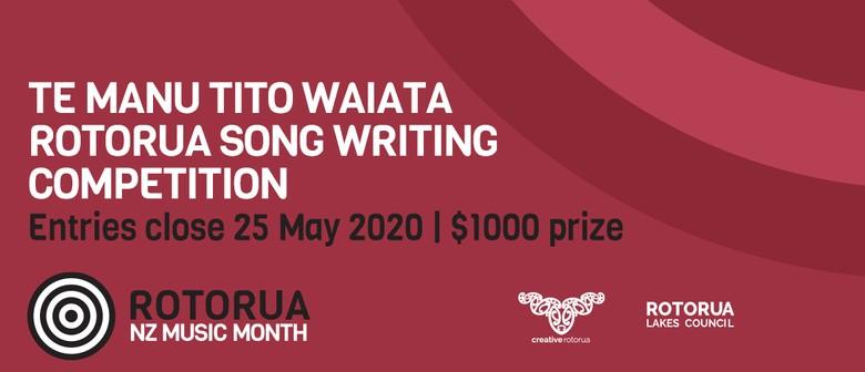 Te Manu Tito Waiata – Rotorua Song Writing Competition