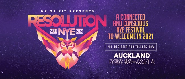 Resolution NYE Festival 2020/21
