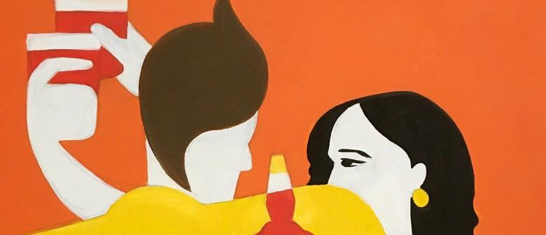 Paintvine & Aperol Spritz Online Online Workshop