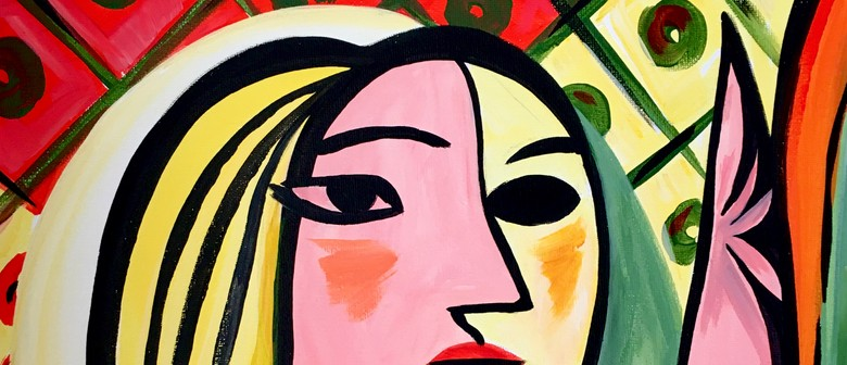 Paint and Wine Night - Picasso Girl - Paintvine
