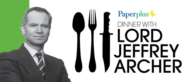 Dinner with Lord Jeffrey Archer