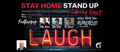 Stay Home Stand Up - Comedy Night with MC Mike King