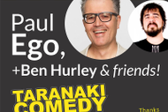 Taranaki Comedy Club - July SECOND SHOW