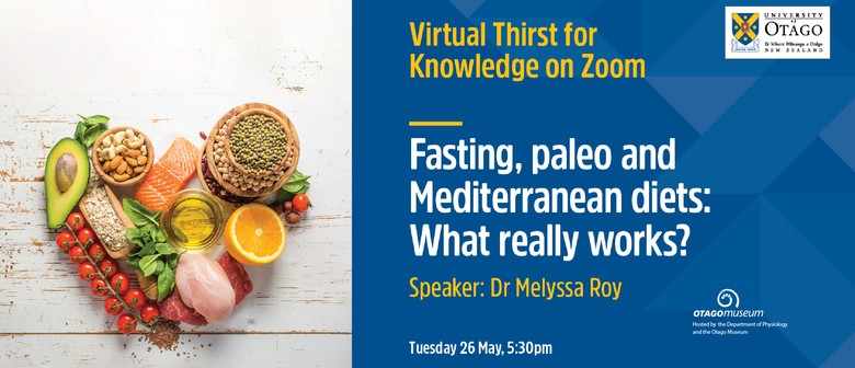 Thirst for Knowledge: Fasting, paleo and Mediterranean diets
