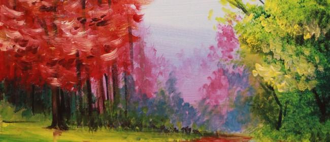 Paint & Chill Night - Autumn Trees