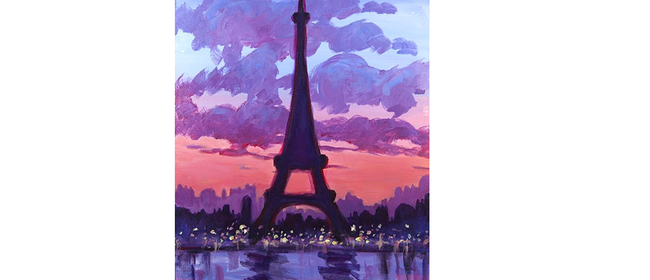 Wine and Paint Party - Eiffel Tower