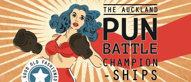 The Auckland Pun Battle Championships! 2020