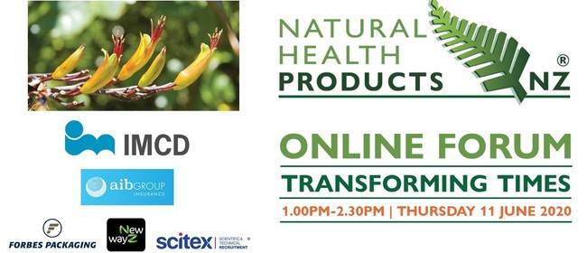 Natural Health Products NZ Online Forum - Transforming Times