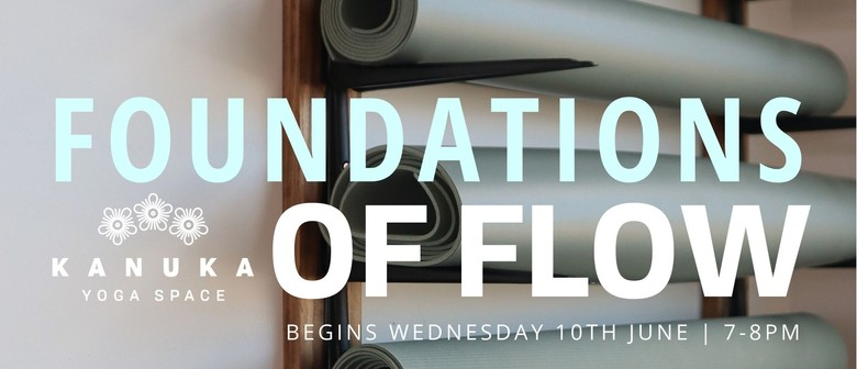 Foundations of Flow - beginners yoga series