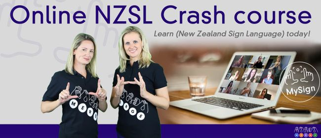 MySign NZSL Online Crash Course - Part 1