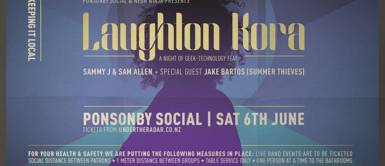 Laughton Kora Live at Ponsonby Social