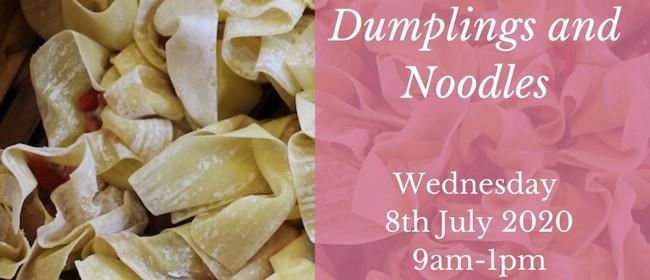 Children's Cooking Class - Dumplings and Noodles