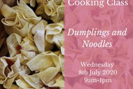 Children's Cooking Class - Dumplings and Noodles