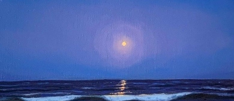Wine and Paint Party - Moonlit Waves